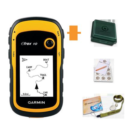 Garmin eTrex 10 + Geocaching Kit